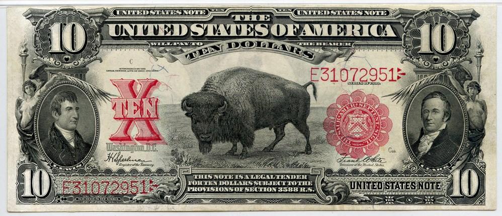 sample image for 1901 $10  (Fr.# 122)