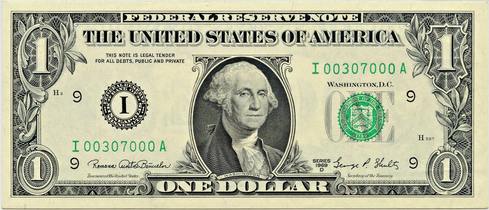 sample image for 1969D $1  Minneapolis (Fr.# 1907I)