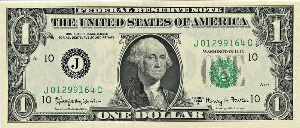 sample image for 1963A $1  Kansas City (Fr.# 1901J)
