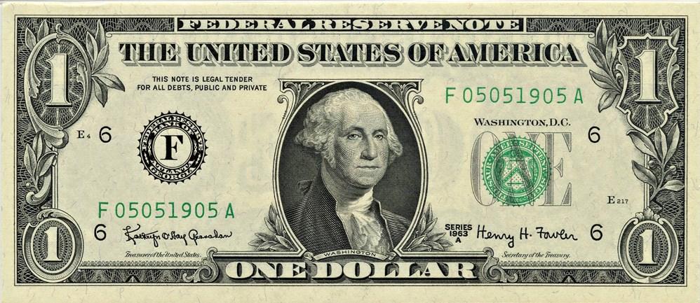 sample image for 1963A $1  Atlanta (Fr.# 1901F)
