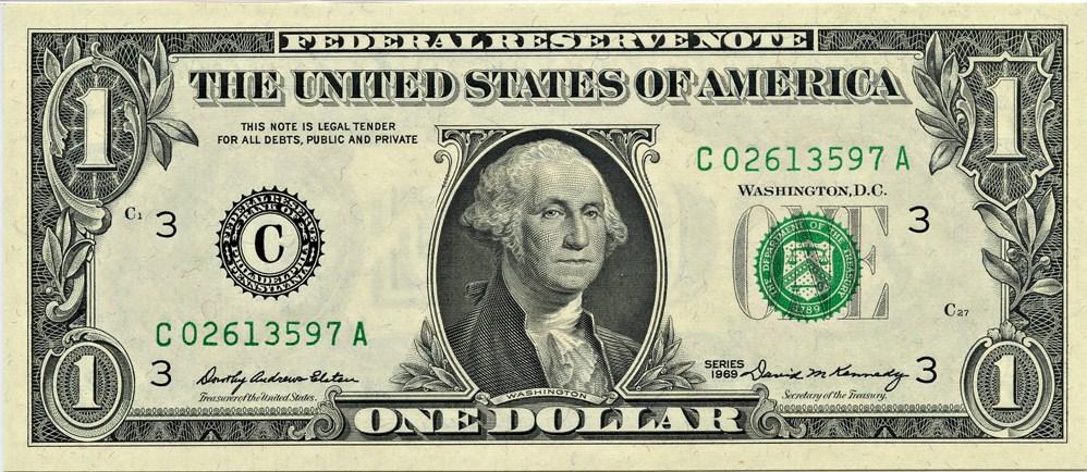 sample image for 1969 $1  Philadelphia (Fr.# 1903C)