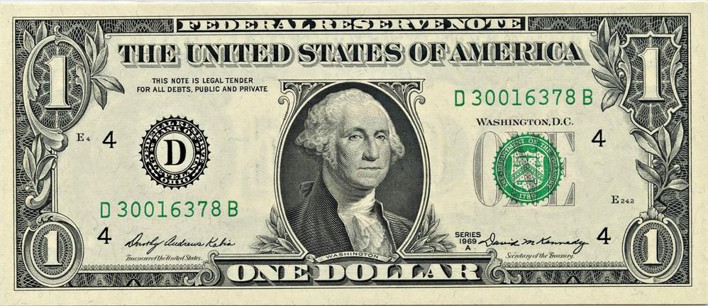 sample image for 1969A $1  Cleveland (Fr.# 1904D)