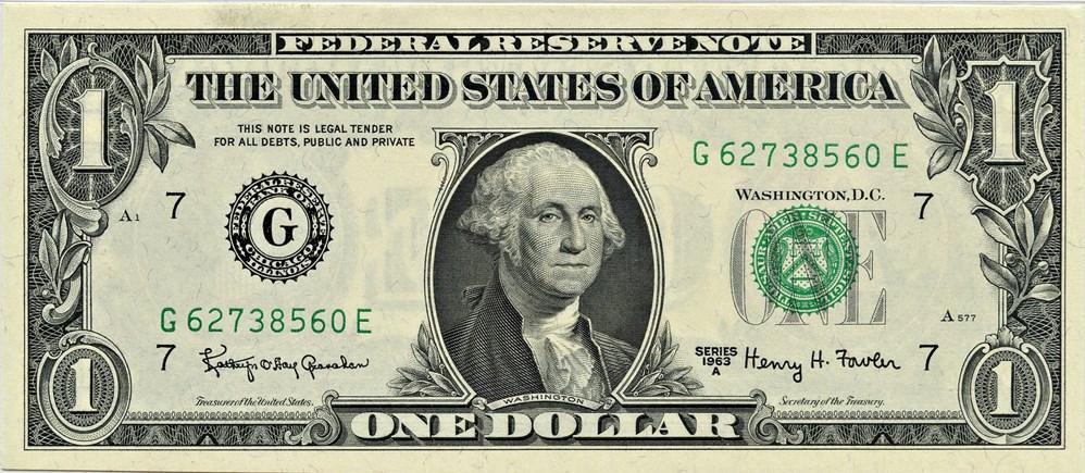 sample image for 1963A $1  Chicago (Fr.# 1901G)