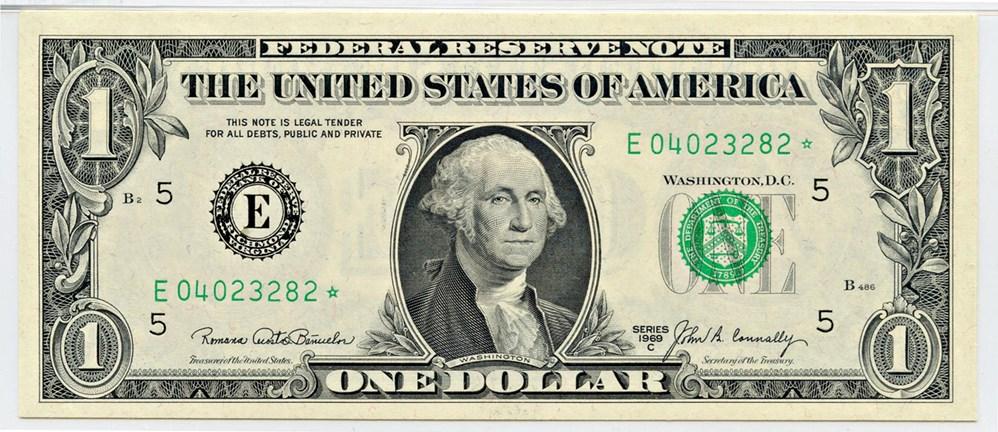 sample image for 1969C $1  Richmond (Fr.# 1906E*)