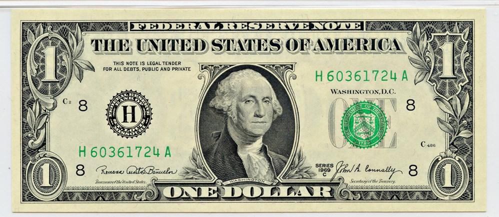 sample image for 1969C $1  St. Louis (Fr.# 1906H)