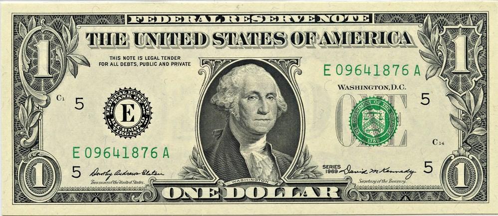 sample image for 1969 $1  Richmond (Fr.# 1903E)