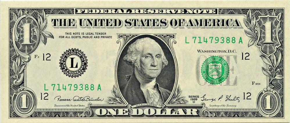 sample image for 1969D $1  San Francisco (Fr.# 1907L)