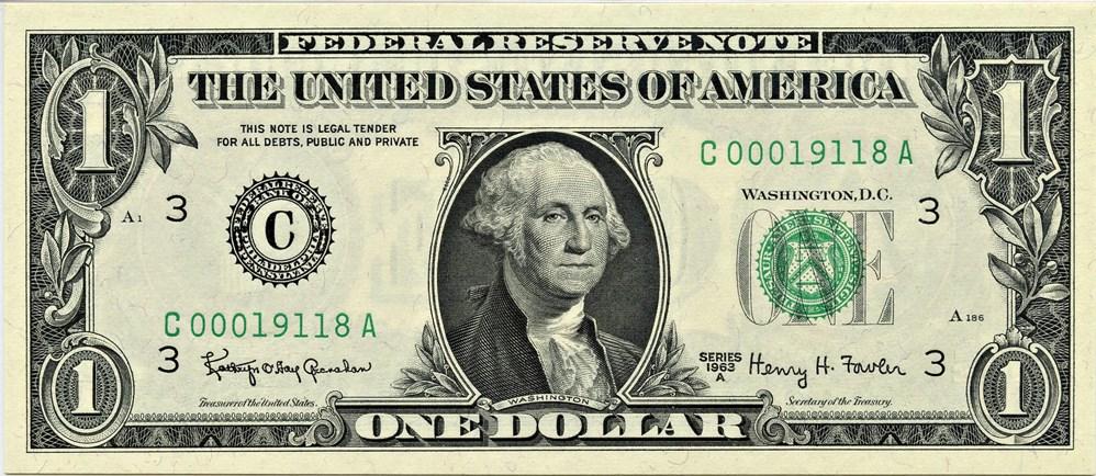 sample image for 1963A $1  Philadelphia (Fr.# 1901C)