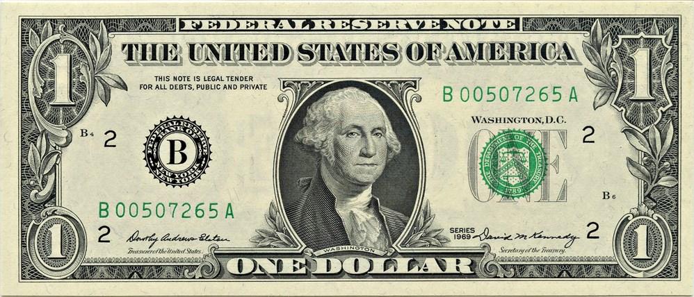 sample image for 1969 $1  New York (Fr.# 1903B)