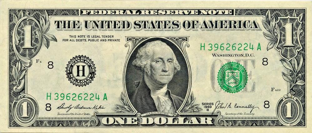 sample image for 1969B $1  St. Louis (Fr.# 1905H)