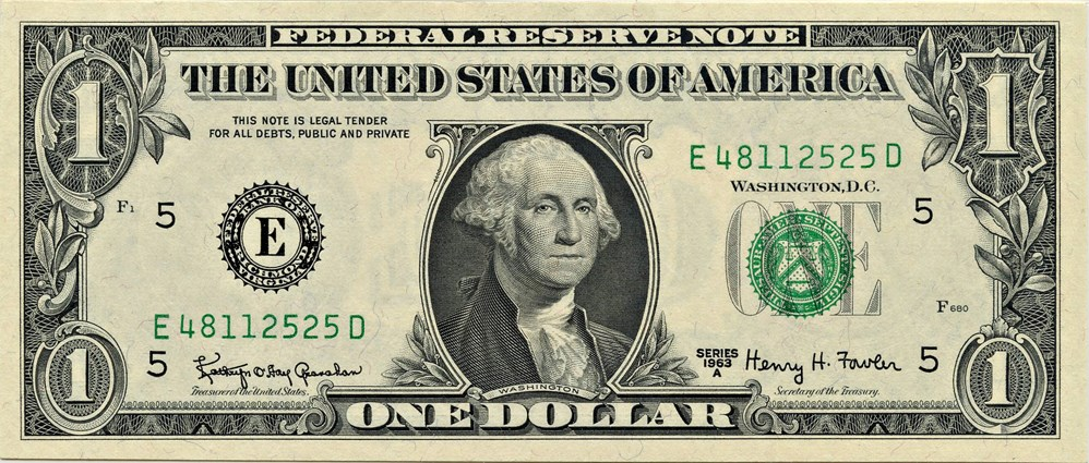 sample image for 1963A $1  Richmond (Fr.# 1901E)