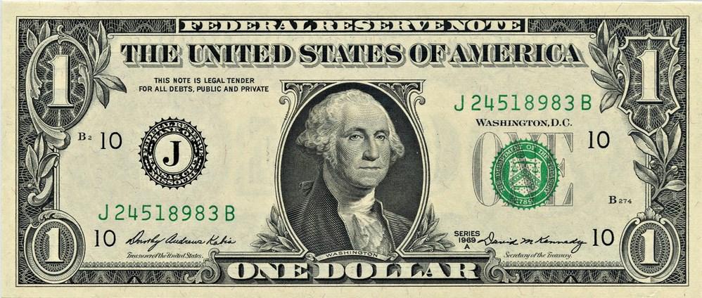 sample image for 1969A $1  Kansas City (Fr.# 1904J)