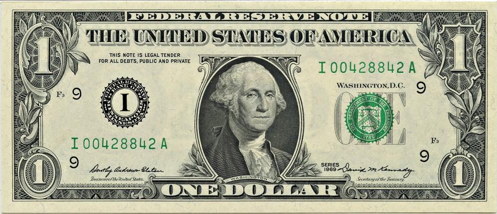sample image for 1969 $1  Minneapolis (Fr.# 1903I)