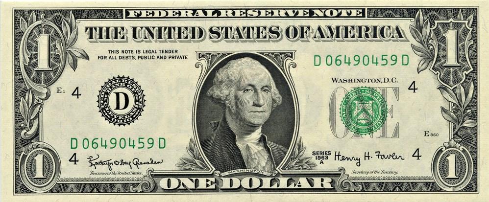 sample image for 1963A $1  Cleveland (Fr.# 1901D)