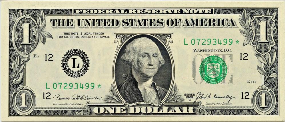sample image for 1969C $1  San Francisco (Fr.# 1906L*)