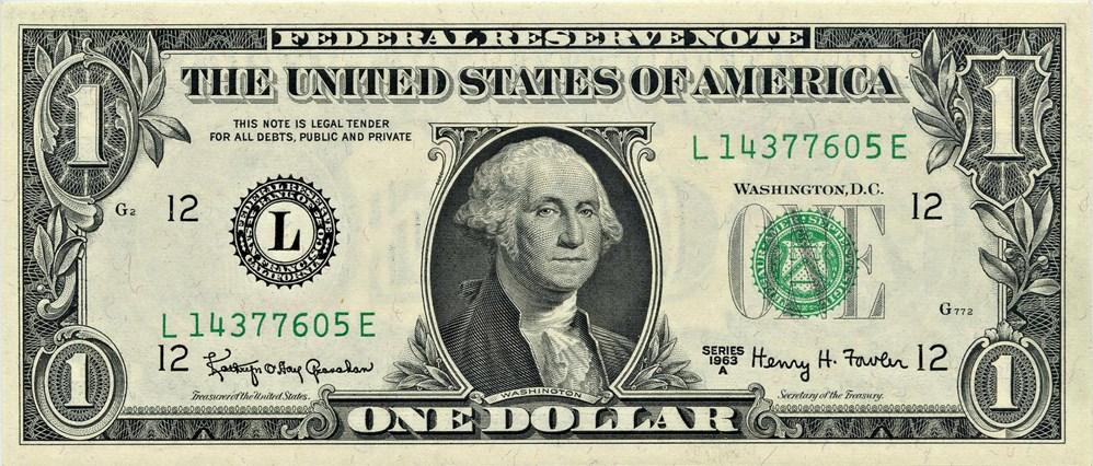 sample image for 1963A $1  San Francisco (Fr.# 1901L)