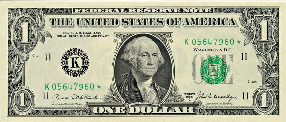sample image for 1969C $1  Dallas (Fr.# 1906K*)