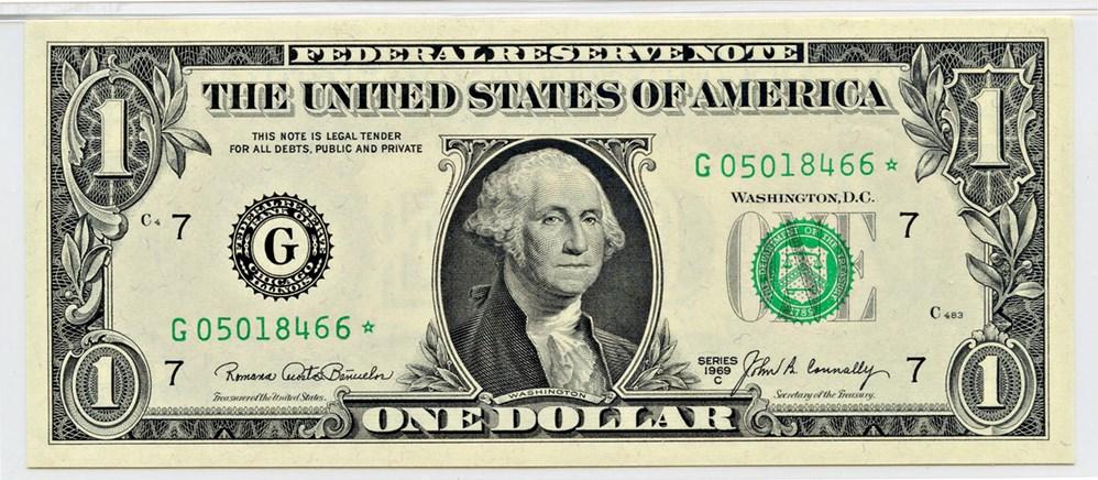 sample image for 1969C $1  Chicago (Fr.# 1906G*)