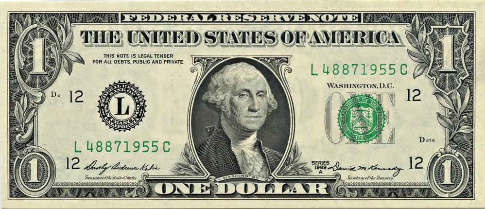 sample image for 1969A $1  San Francisco (Fr.# 1904L)