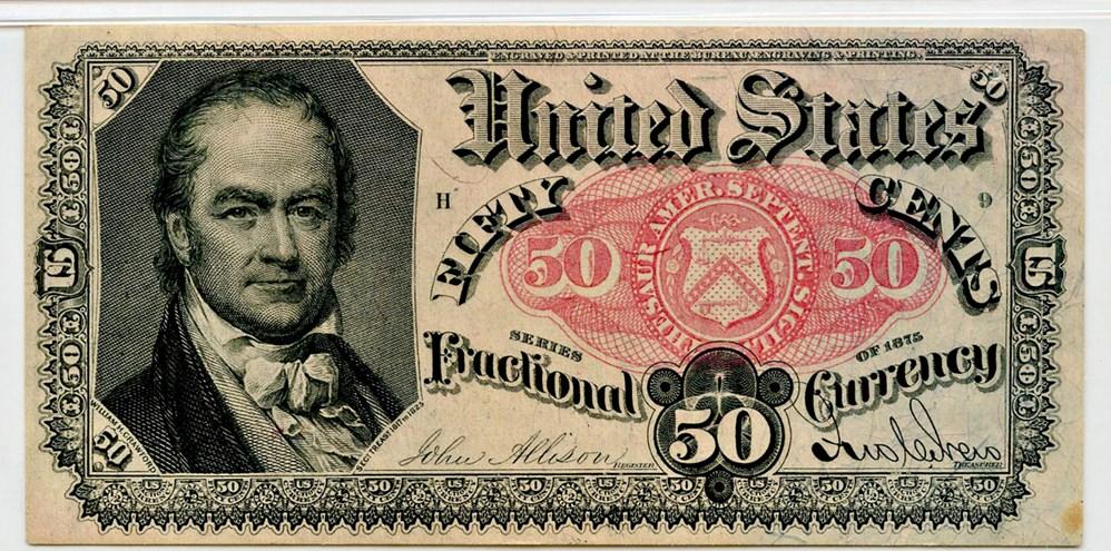 sample image for 50c (Fr.# 1381)