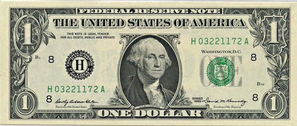 sample image for 1969 $1  St. Louis (Fr.# 1903H)