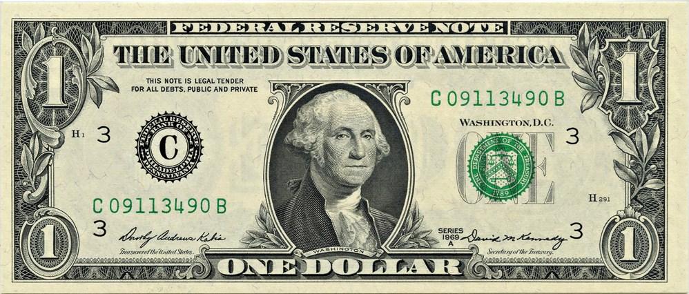 sample image for 1969A $1  Philadelphia (Fr.# 1904C)
