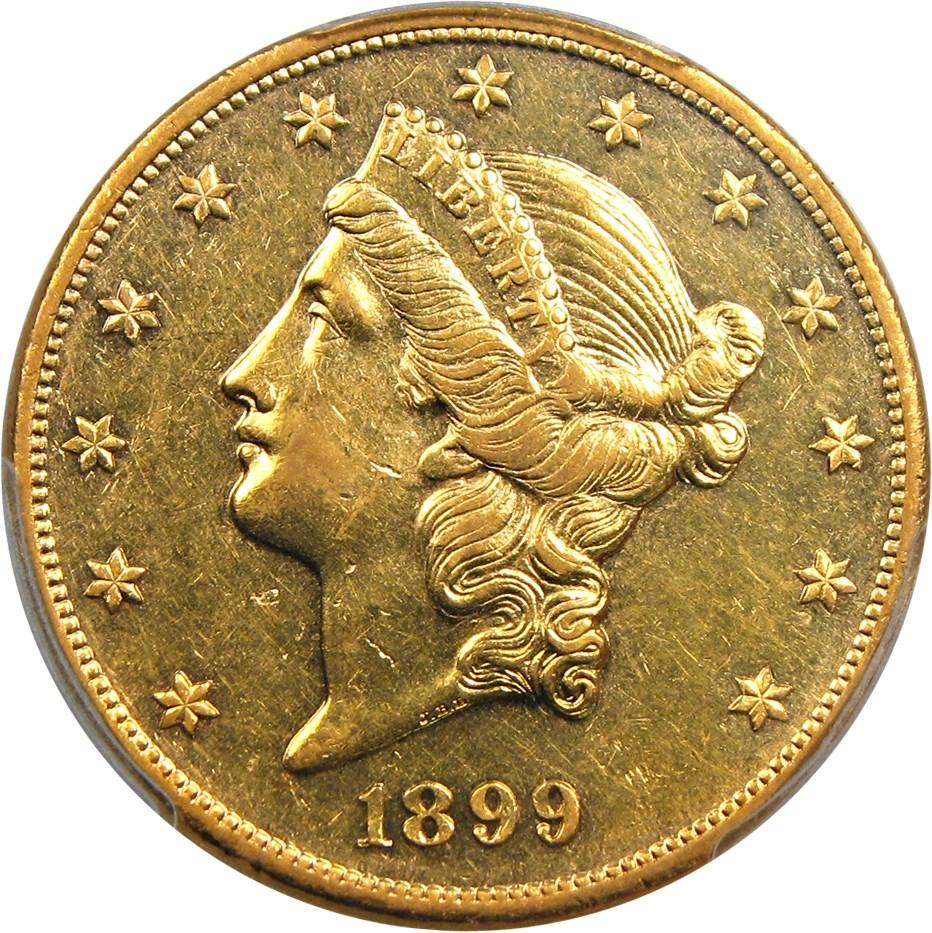 sample image for 1899 $20  PR