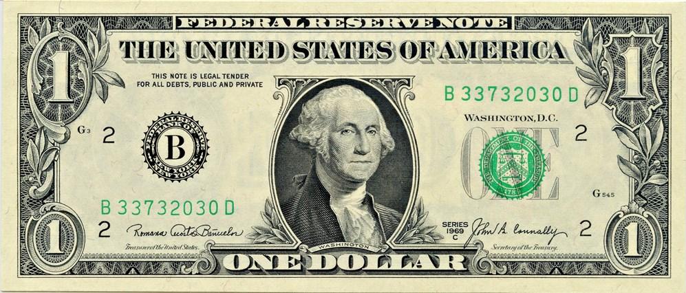 sample image for 1969C $1  New York (Fr.# 1906B)
