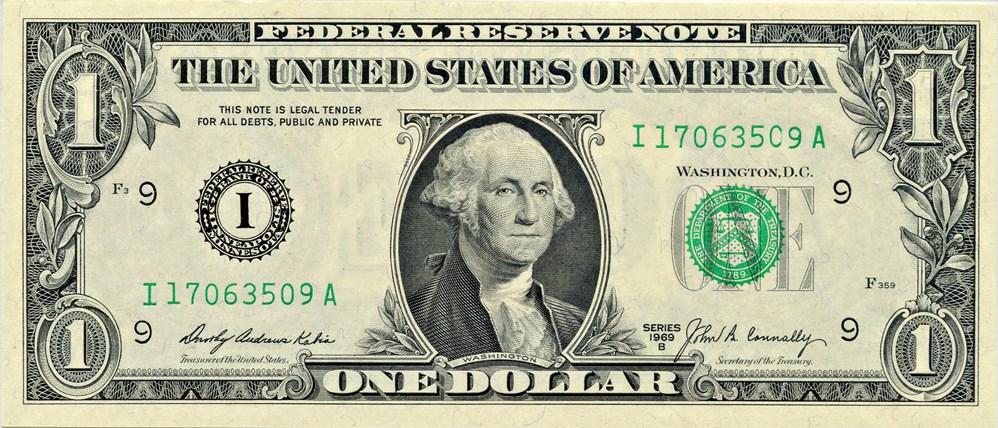 sample image for 1969B $1  Minneapolis (Fr.# 1905I)