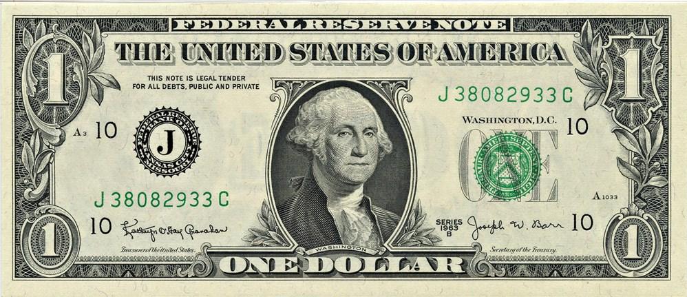 sample image for 1963B $1  Kansas City (Fr.# 1902J)