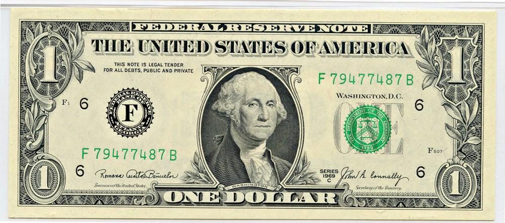 sample image for 1969C $1  Atlanta (Fr.# 1906F)