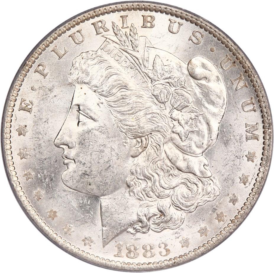 sample image for 1883-O $1  MS VAM-19