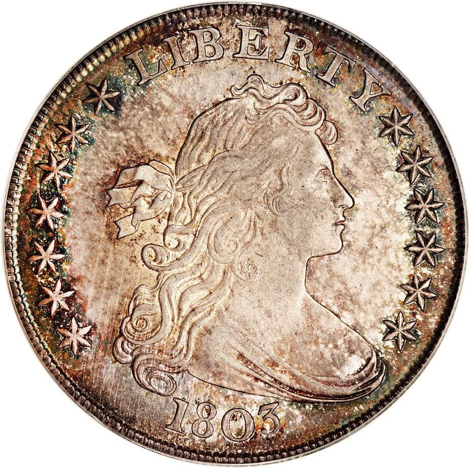 sample image for 1803 $1  MS Small 3
