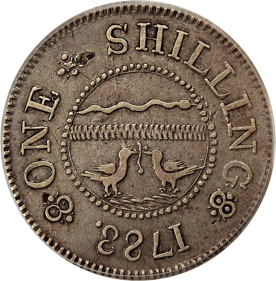 sample image for 1783 Chalmers 1s, Short Worm