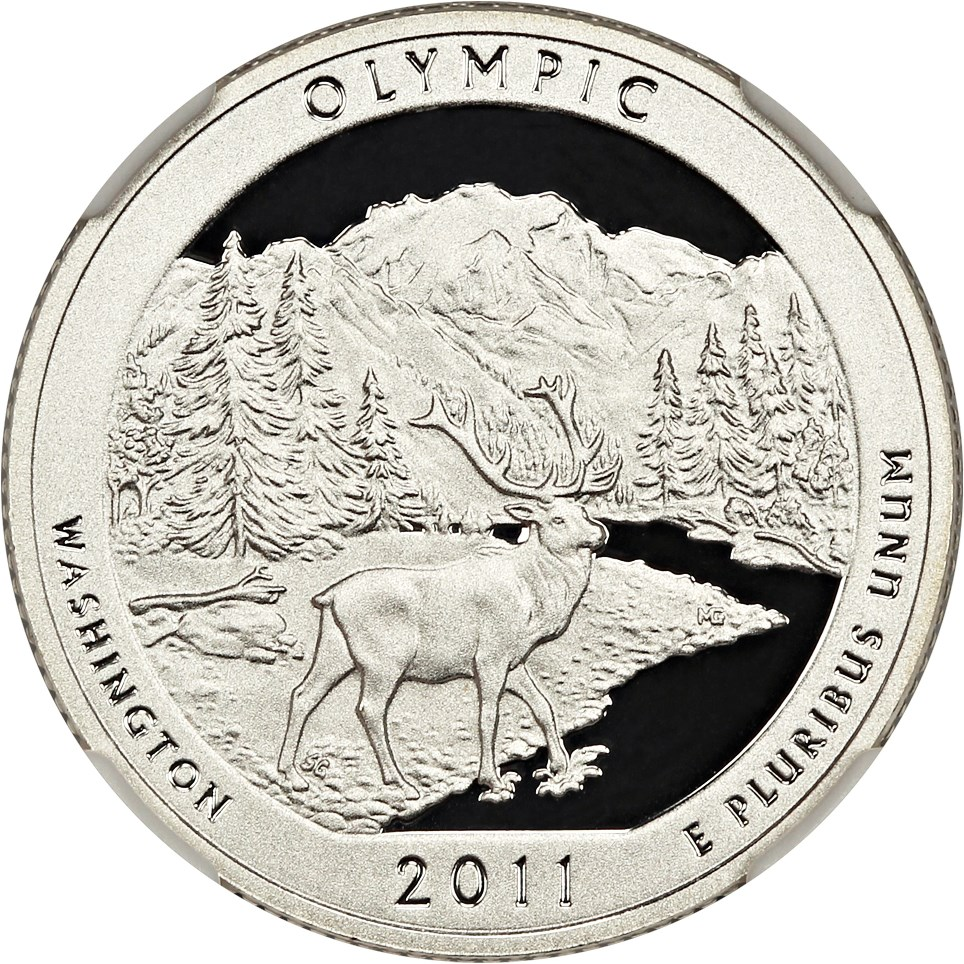 sample image for 2011-S Glacier Silver DCAM