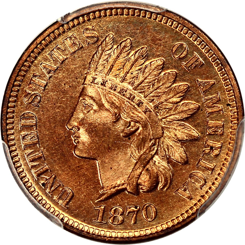 sample image for 1870 1c PR RD