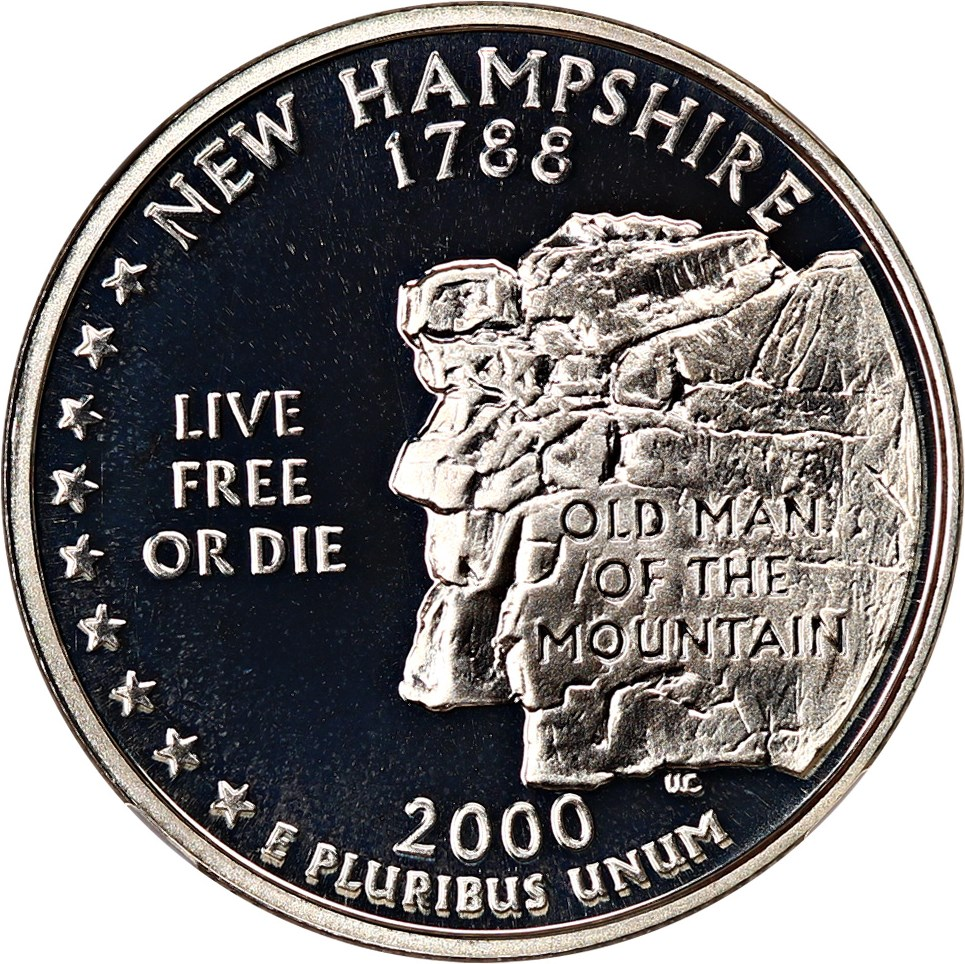sample image for 2000-S New Hampshire, Silver DCAM