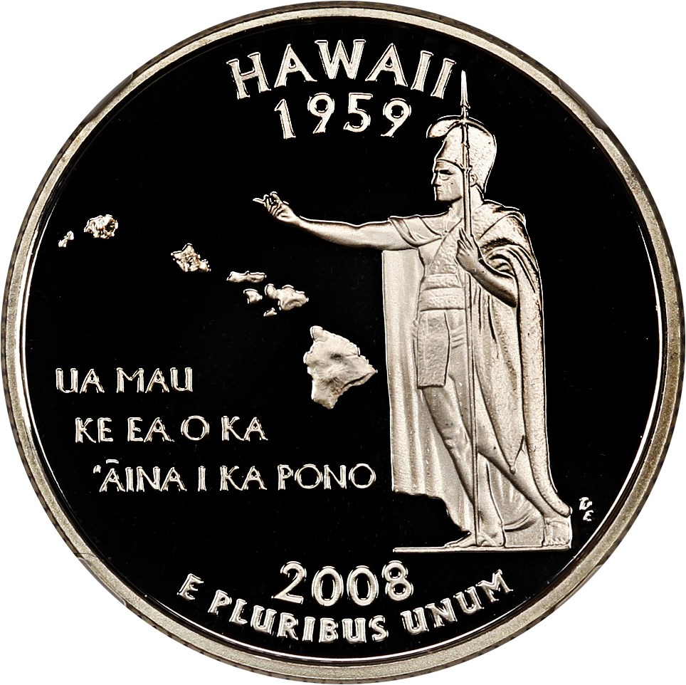 sample image for 2008-S Hawaii, Silver DCAM