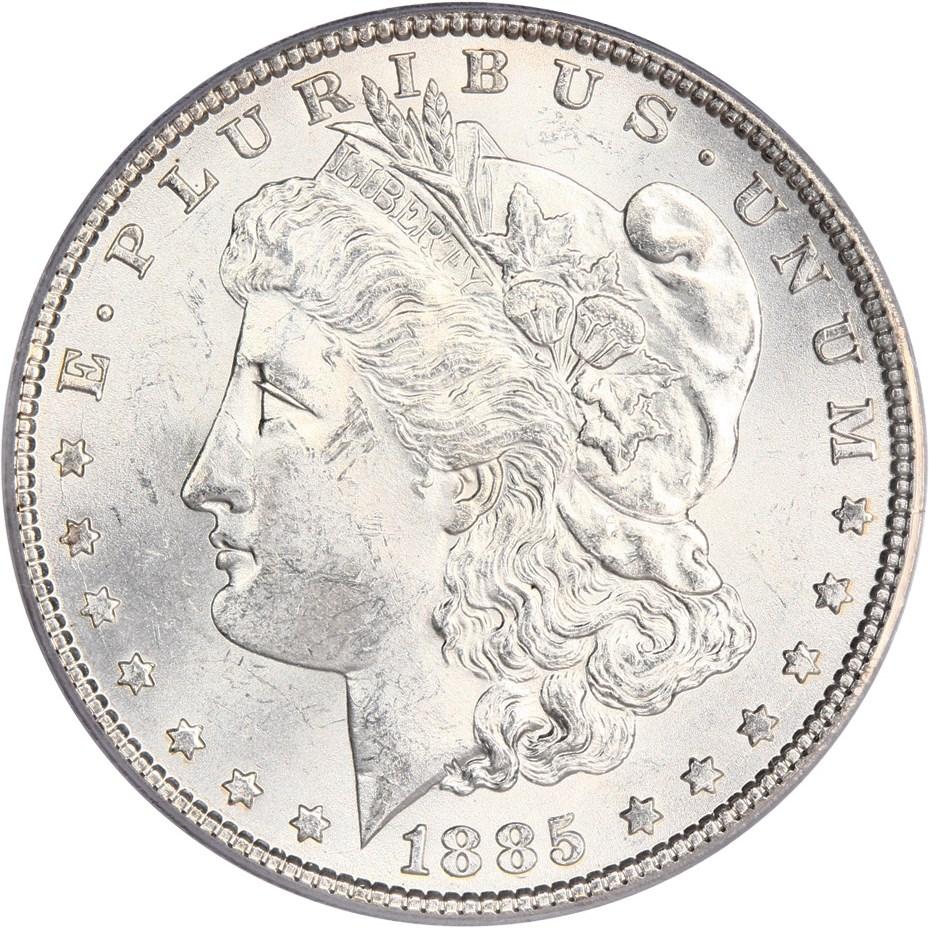 sample image for 1885 $1  MS VAM-8, Dash