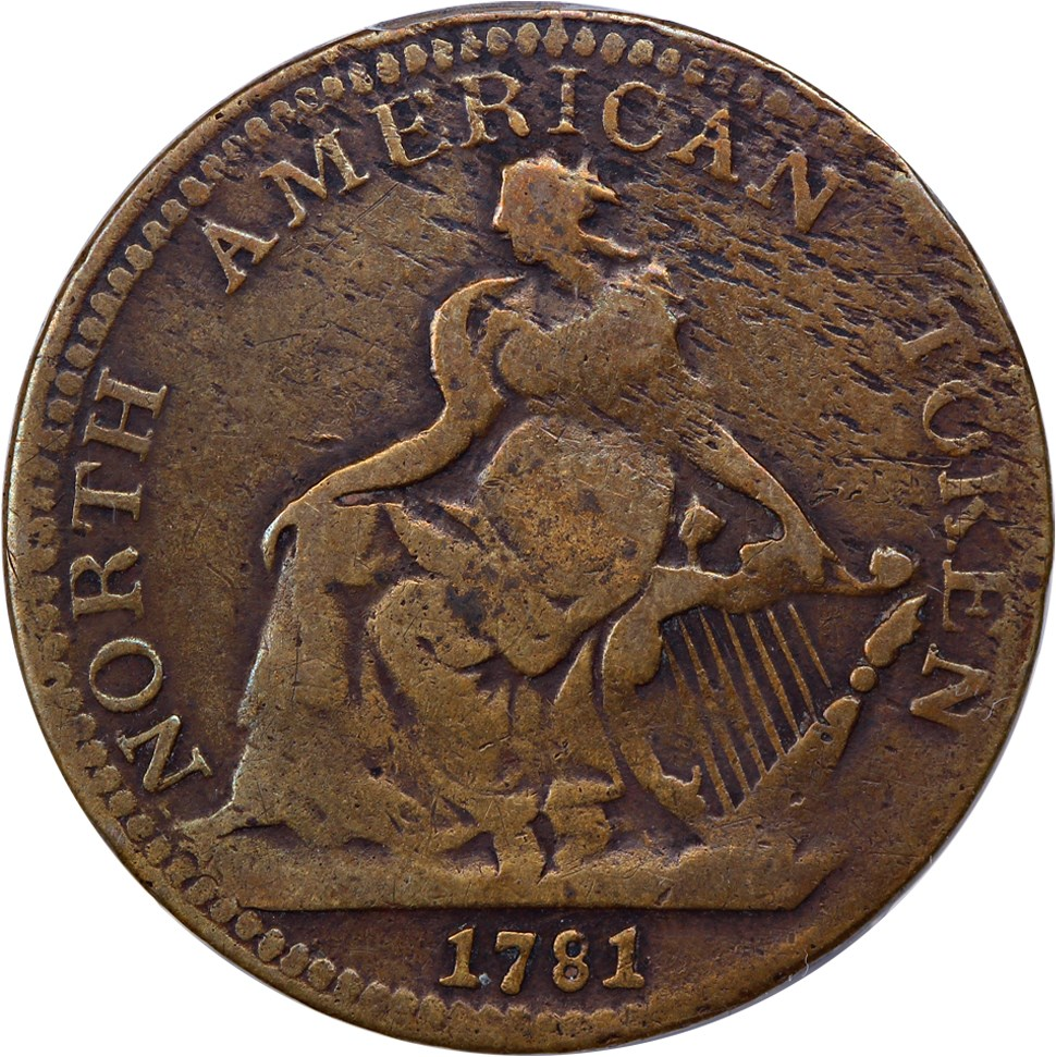 sample image for 1781 North American Token BN