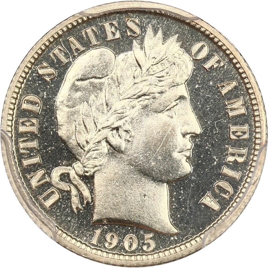 sample image for 1905 10c PR CAM