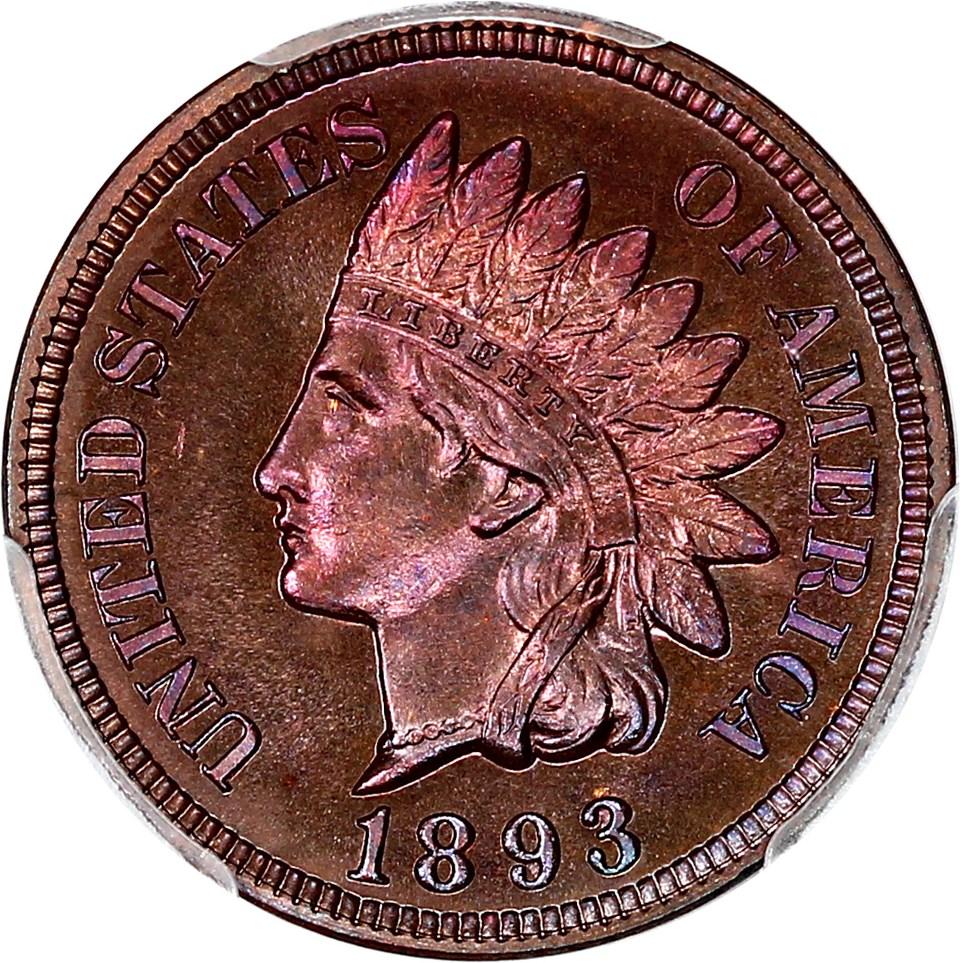 sample image for 1893 1c PR BN