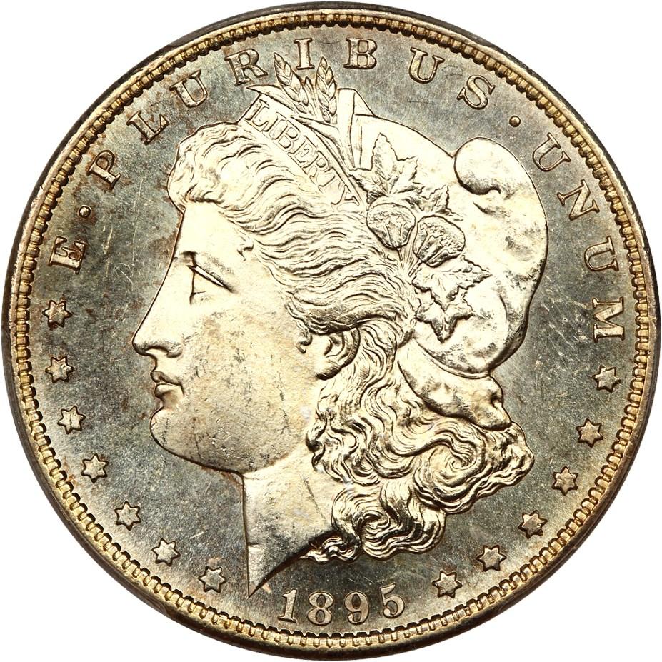 sample image for 1895-S $1  MS DMPL