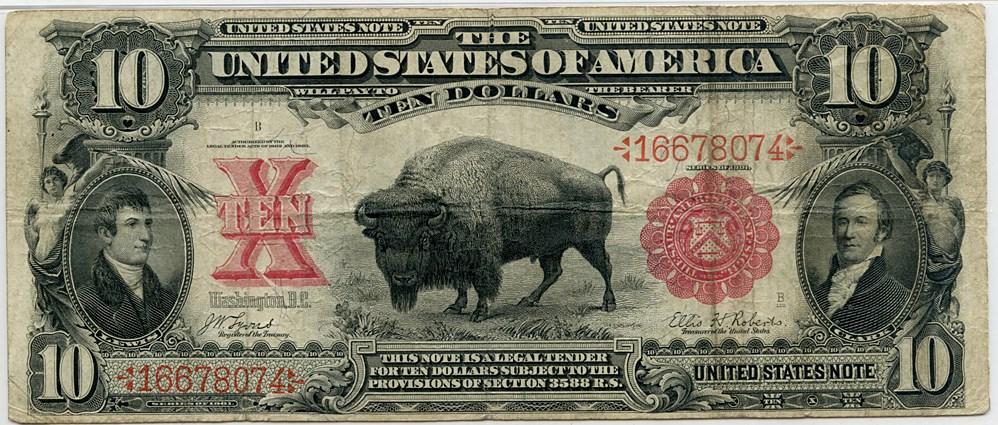 sample image for 1901 $10  (Fr.# 114)