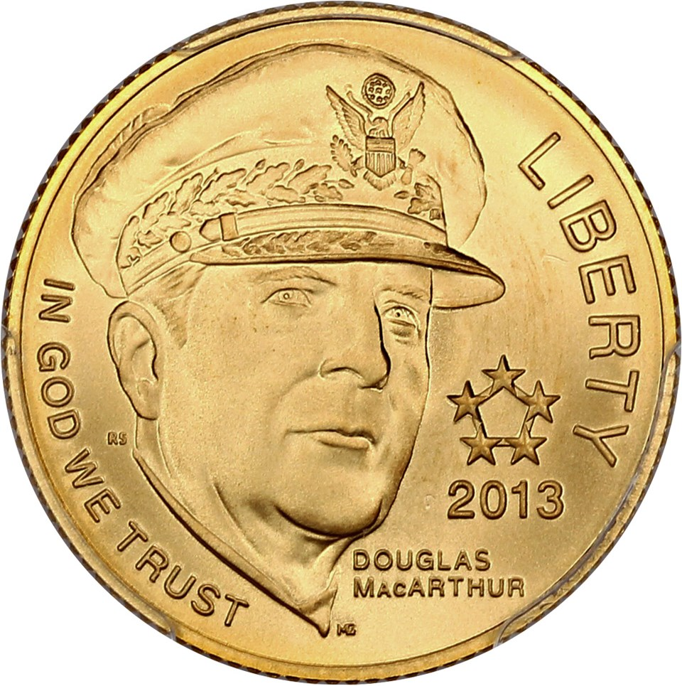 sample image for 2013-P 5 Star Generals $5  MS