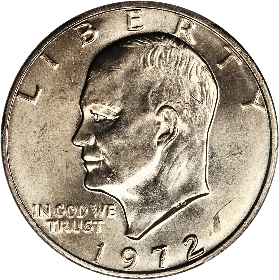 sample image for 1972 $1  MS Type 2
