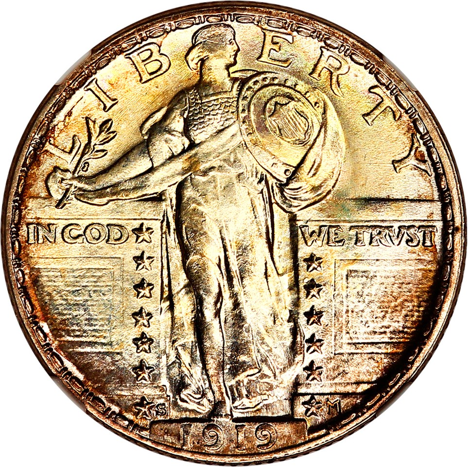 sample image for Standing Liberty Quarter, Ty. 2 [Type]