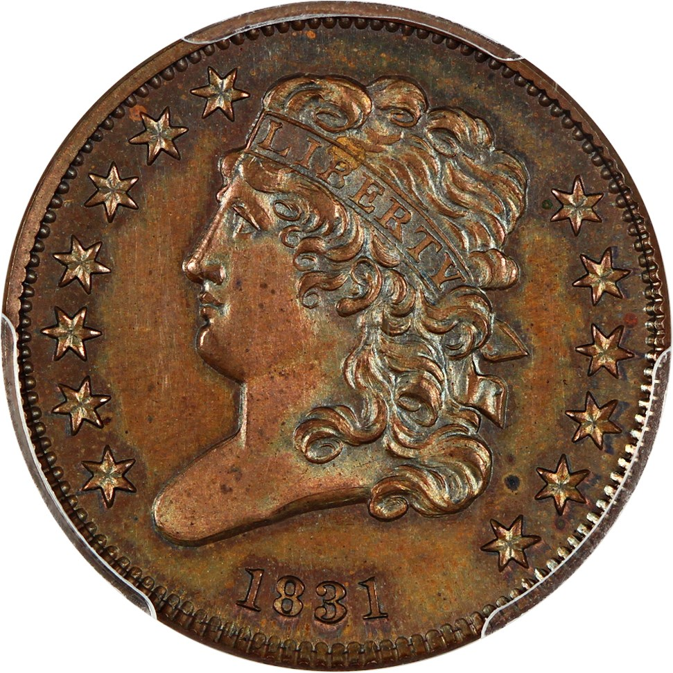 sample image for Classic Head Half Cent BN [Type]