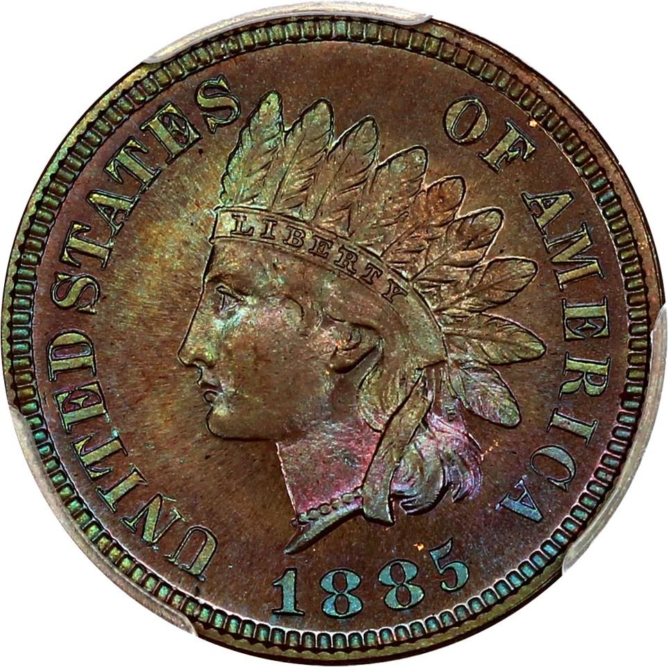 sample image for 1885 1c PR BN
