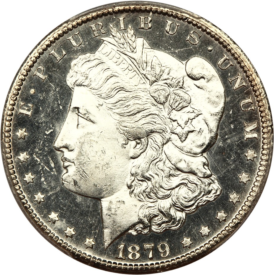 sample image for 1879-CC $1  MS DMPL Capped Die